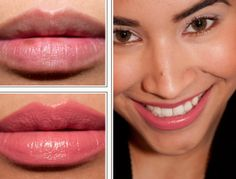 CoverGirl Lip Perfection in Heavenly (CLICK for Delish, Heavenly, Romance, Rush, Kiss Review, Photos, Swatches from #temptalia)