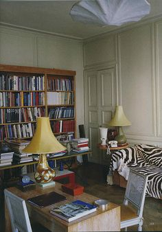 World of Interiors, May 2011, Eileen Gray's apartment, photography Roland Beaufre