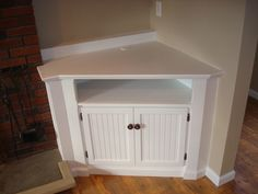 built in corner tv cabinet - Google Search