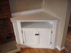 built in corner tv cabinet - Google Search