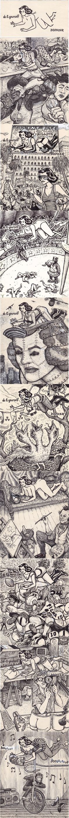 Escapeeg 8061024 pxeles doodler pinterest awesome art solutioingenieria Gallery
