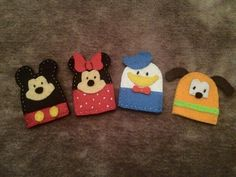 mickey mouse finger puppets