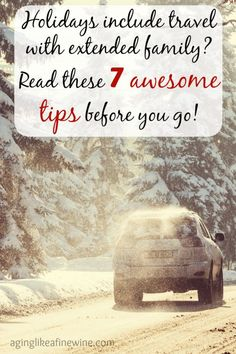 7 Awesome Tips for Surviving Travel with Extended Family - Thank you for sharing at #BloggingGrandmothers #Christmas #LinkParty