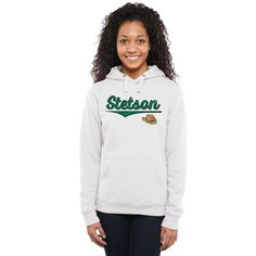 Stetson Hatters Women's American Classic Pullover Hoodie - White