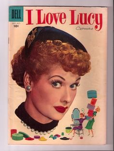 """I absolutely love Lucielle Ball and I love """"I Love Lucy"""" reruns. The friendship between Lucy and Ethel reminds me a lot of the friendship I have with my best friend."""