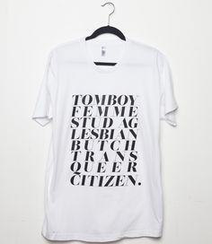 The latest artist t-shirt by Sophia Wallace, Brooklyn based conceptual artist. Limited edition, hand printed and triple cured in Brooklyn in small batches on American Apparel. The t-shirts are ...