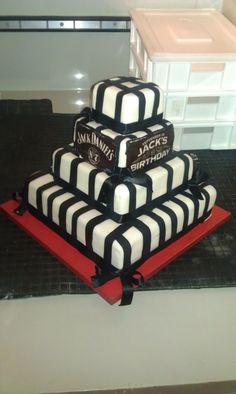 Jack Daniel's Cake by Tuffli www.tuffli.ro