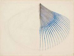 John Ruskin, The Extremity of a Kingfisher's Wing Feather, 1872 - from Stephen Ellcock