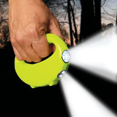 Bring this flashlight that lights the path ahead of you AND the ground in front of you — at the same time. | 39 Brilliant Camping Hacks To Try On Your Next Trip