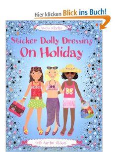 Holiday: Sticker Dolly Dressing Usborne Sticker Dolly Dressing: Amazon.de: Lucy Bowman, Stella Baggot: Englische Bücher