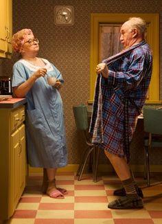 Abuela y abuelo. Cuando existe llama aún después de tantos años