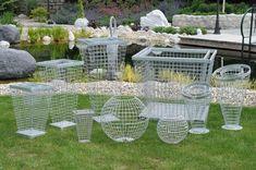 53 Super Ideas for patio garden planters tuin Patio Wall, Backyard Patio, Backyard Landscaping, Garden Deco, Garden Art, Garden Design, Modern Landscape Design, Modern Landscaping, Topiary Garden