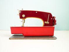 Vintage Sewing Machine Toy