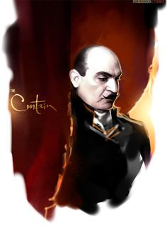 """Yesterday evening David Suchet wrote in his twitter that they had finished filming """"The Curtain"""". I know the epoch of Agatha Cristie doesn't end with this, as it didn't end when the last book was written, or when the last breath of Dame Agatha was released. But this still feels like a stab in the chest: that's the last one. The glorious one. The unreal, impossible, wonderful one.  The Curtain."""