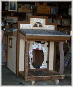 Dog or Playhouse by wooddesignsby on Etsy, $2200.00