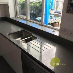 Grigio Medio Stella - Cambridgeshire - Rock and Co Granite Ltd Stella, Granite, Stove, Sink, Kitchen Appliances, Sink Tops, Diy Kitchen Appliances, Stove Fireplace, Vessel Sink