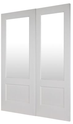 COBHAM PAIR - is a part of Todd Doors wide range of pre-primed hardwood doors to make your home look and feel unique. All our External Hardwood Doors are of an engineered construction, with a hardwood veneer to provide greater strength and stability. External Hardwood Doors, External French Doors, External Doors, Timber Door, Feel Unique, Home Look, Stability, Strength, Construction