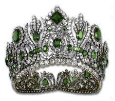 What the original Empress Marie-Louise tiara looked like (given to her by her husband, Napoleon Bonaparte)