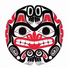 Bill Reid- Xhuwaji / Haida Grizzly Bear. Beautiful art of the Haida people that hail from the West Coast of Canada.