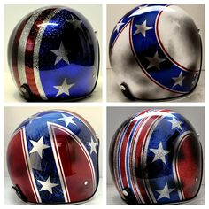 Oily Distressed Style...Evel Knievel, Stars  Stripes, Stars  Bars::Chemical Candy Customs | 8negro