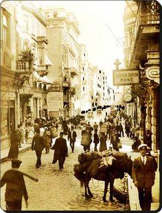 İstanbul_Beyoğlu - 1910 lar