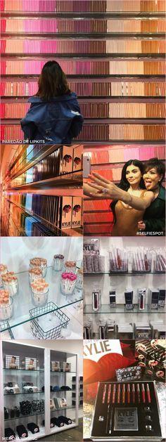 Tudo sobre a loja popup da Kylie Jenner - Fashionismo