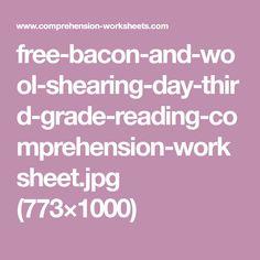 Reading Comprehension Test, Third Grade Reading, Free