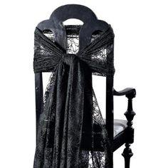 Chair wrap for halloween