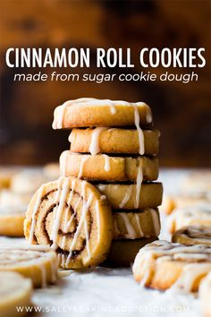 Little cinnamon roll cookies made from sugar cookie dough! Easy recipe on sallys… Little cinnamon roll cookies made from sugar cookie dough! Easy recipe on sallysbakingaddic… Cinnamon Sugar Cookies, Chewy Sugar Cookies, Rolled Sugar Cookies, Sugar Cookie Dough, Sugar Cookies Recipe, Cinnamon Rolls, Vanilla Cookie Recipe, Favorite Sugar Cookie Recipe, Best Christmas Cookie Recipe