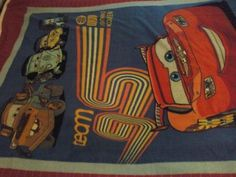 Disney Cars Fleece throw blanket with McQueen toddler travel size pillow    $35