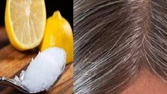 Coconut Oil And Lemon Mixture – It Turns Gray Hair Back To Its Natural Color | Usa Trick