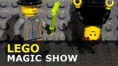 Lego Stop Motion -  Magic Show Brickfilm Magic Show, Lego City, Stop Motion, The Creator, Animation, Animation Movies, Motion Design