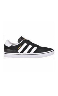 Adidas Skateboarding Busenitz Vulc Black/White/Black - Fuel Clothing