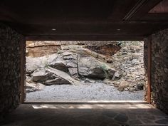 trace architecture office (TAO) / teahouse inside an abandoned quarry in china's shandong province