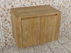 Badmeubel teakhout sukaria 75 cm | Vergelijkprijs.nl Nightstand, Bathroom, Table, Furniture, Home Decor, Washroom, Decoration Home, Room Decor, Full Bath