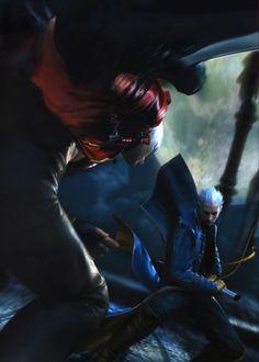 Capcom, Devil May Cry, Dante, Vergil