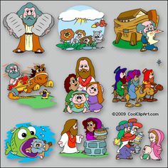 I love good clipart for Bible class!