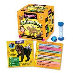 8+ BrainBox Animales. Jugamos toda la familia. Activa la atención y la memoria. Las partidas son cortas y no se hace pesado y despierta el interés de los niños por aprender acerca de los distintos animales.