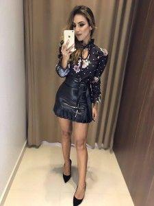 Saia Feminina Compre Em Até 6x Sem Juros - Estação Store