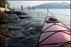 Kayak on Flathead Lake, MT-I WILL do a kayaking expedition this summer!!