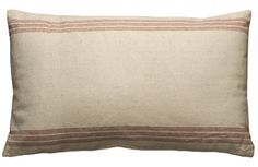 $19.50 Large Feedsack Pillow~Enjoy Today's Steal from DECOR STEALS www.decorsteals.com previously WUSLU
