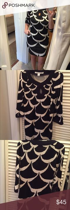 DVF black and white dress DVF black and white dress Diane von Furstenberg Dresses