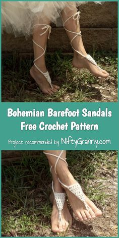 Summer crochet patterns are now very popular. Try out our 5 Awesome Crochet Barefoot Sandals Free Patterns and show your style taste while vacation! Diy Barefoot Sandals, Barefoot Sandals Pattern, Bare Foot Sandals, Easy Crochet, Free Crochet, Crochet Stitches, Crochet Patterns, Expression Fiber Arts, Pattern Images