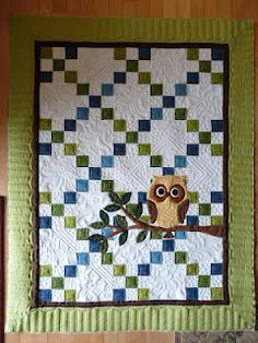 Sewing & Quilt Gallery: Whooo's the New Baby? Sewing & Quilt Gallery: Whooo's the New Baby? Longarm Quilting, Machine Quilting, Quilting Projects, Quilting Designs, Sewing Projects, Quilting Ideas, Sewing Ideas, Sewing Art, Owl Quilt Pattern
