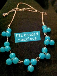DIY Beaded Necklace