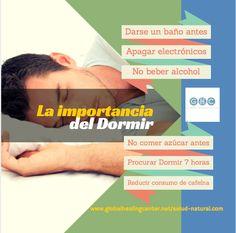 Dormir es tan importante para la salud como comer adecuadamente y hacer ejercicio.
