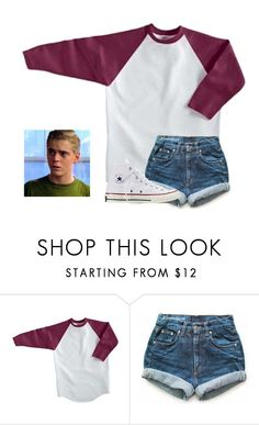 """Out with Ponyboy"" by ponyboysgirlfriend ❤ liked on Polyvore featuring Levi's, Converse, women's clothing, women, female, woman, misses and juniors"