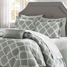 Madison Park Essentials Almaden Reversible 9-piece Bed Set | Overstock.com Shopping - The Best Deals on Bed-in-a-Bag