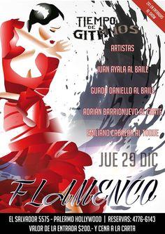 Llega otra noche de Flamenco Show a Tiempo de Gitanos!! Jueves 29 de Diciembre 21:00 hs !! Reservas 4776 6143 Cena Show, Movies, Movie Posters, Thursday, December, Flamingo, Night, Artists, Film Poster