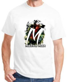 Get a makeover of your wardrobe and your style by placing unique M alphabet t-shirt for men or other alphabet t-shirts for men to it!